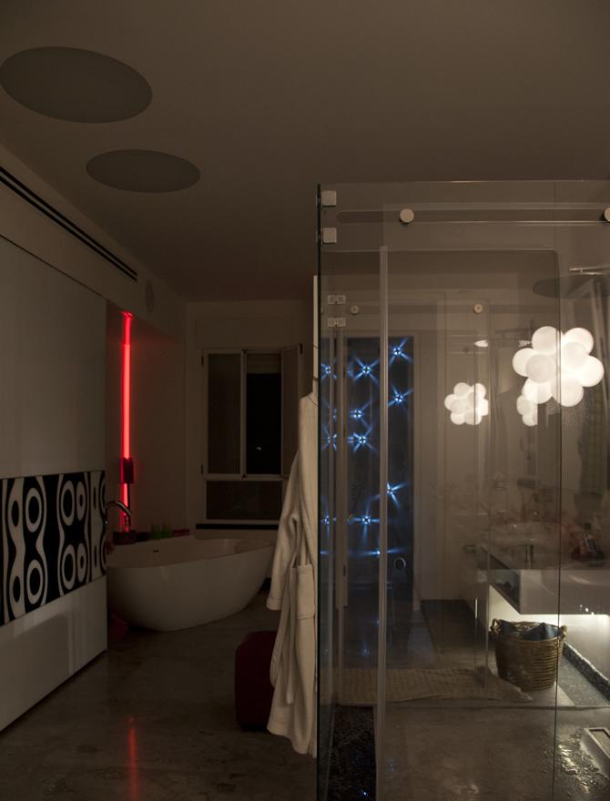 תאורה בחדרי אמבט