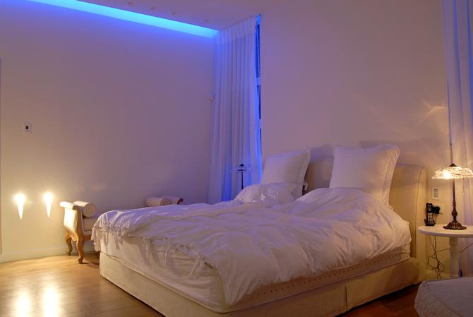 תאורה בחדרי שינה