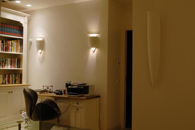 עיצוב תאורת משרדים
