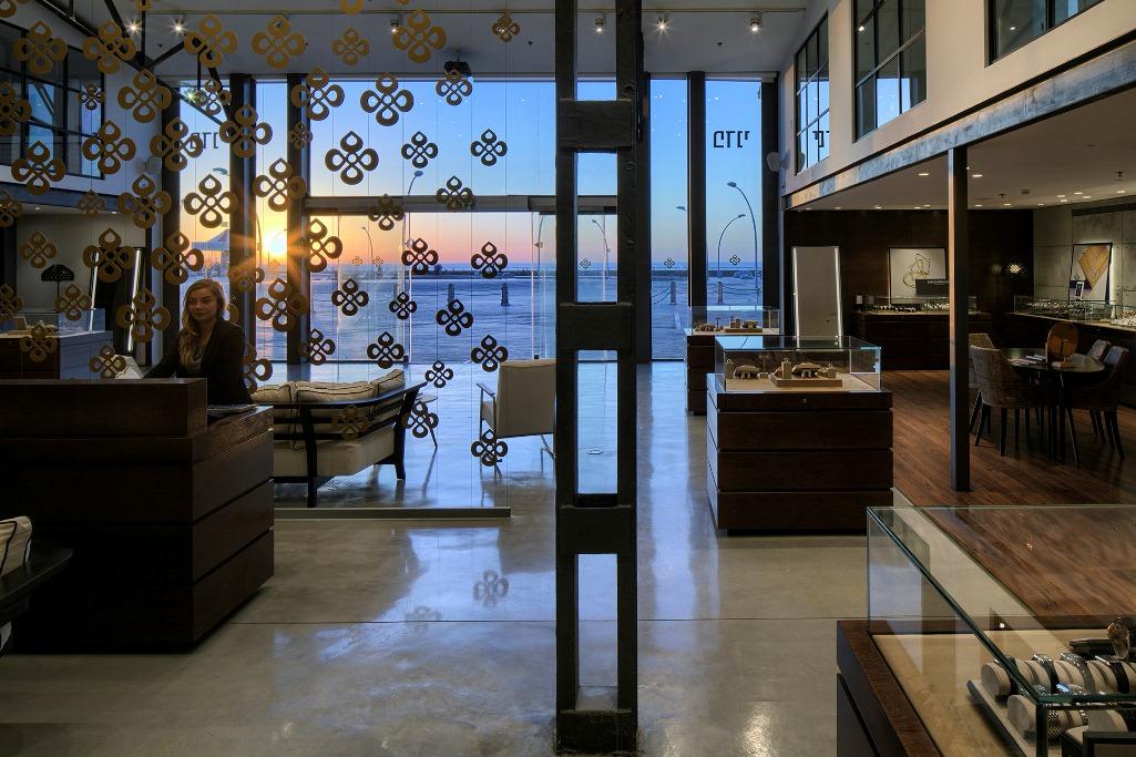עיצוב תאורה בפדני ,סניף נמל תל אביב